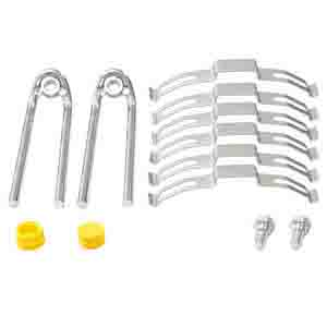 BRAKE PAD RETAINER KIT 2582