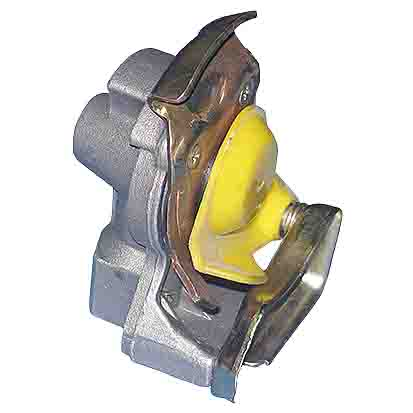 VOLVO AUTOMATIC PALM COUPLING-YELLOW ARC-EXP.101287 1584599