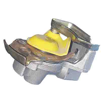 VOLVO AUTOMATIC PALM COUPLING-YELLOW ARC-EXP.101780 1505065