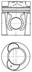 DAF PISTON  AND PISTON RINGS ARC-EXP.200013 683168