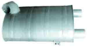 MERCEDES EXHAUST MUFFLE ARC-EXP.301966 3014902301