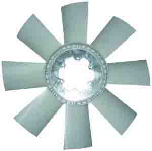 MERCEDES FAN -PLASTIC - 8 BLADE ARC-EXP.303233 0022057806