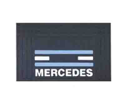 MERCEDES MUDFLAP FRONT DOUBLE ARC-EXP.304528