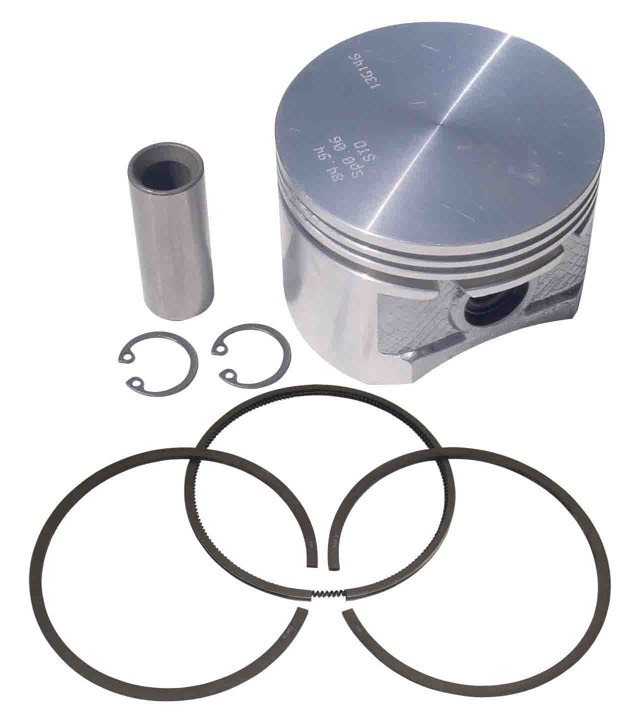 MERCEDES PISTON AND RINGS ARC-EXP.304686 9115016142