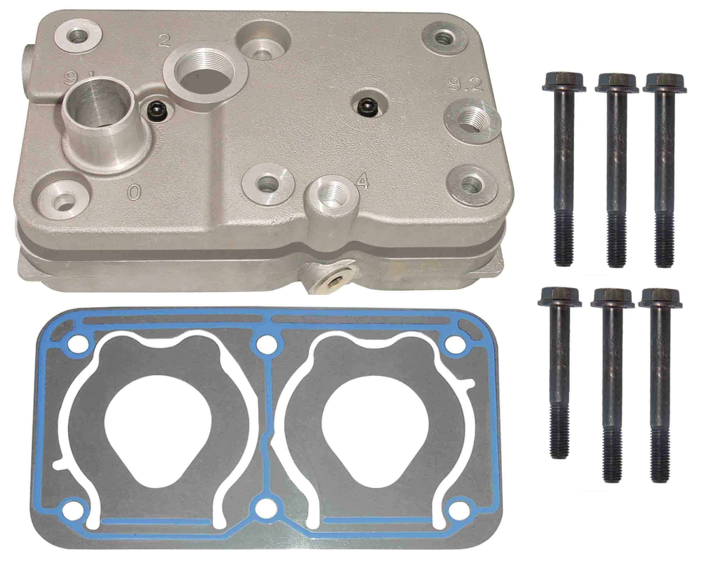 MERCEDES CYLINDER HEAD WIHT PLATE KIT ARC-EXP.304697 0011315619