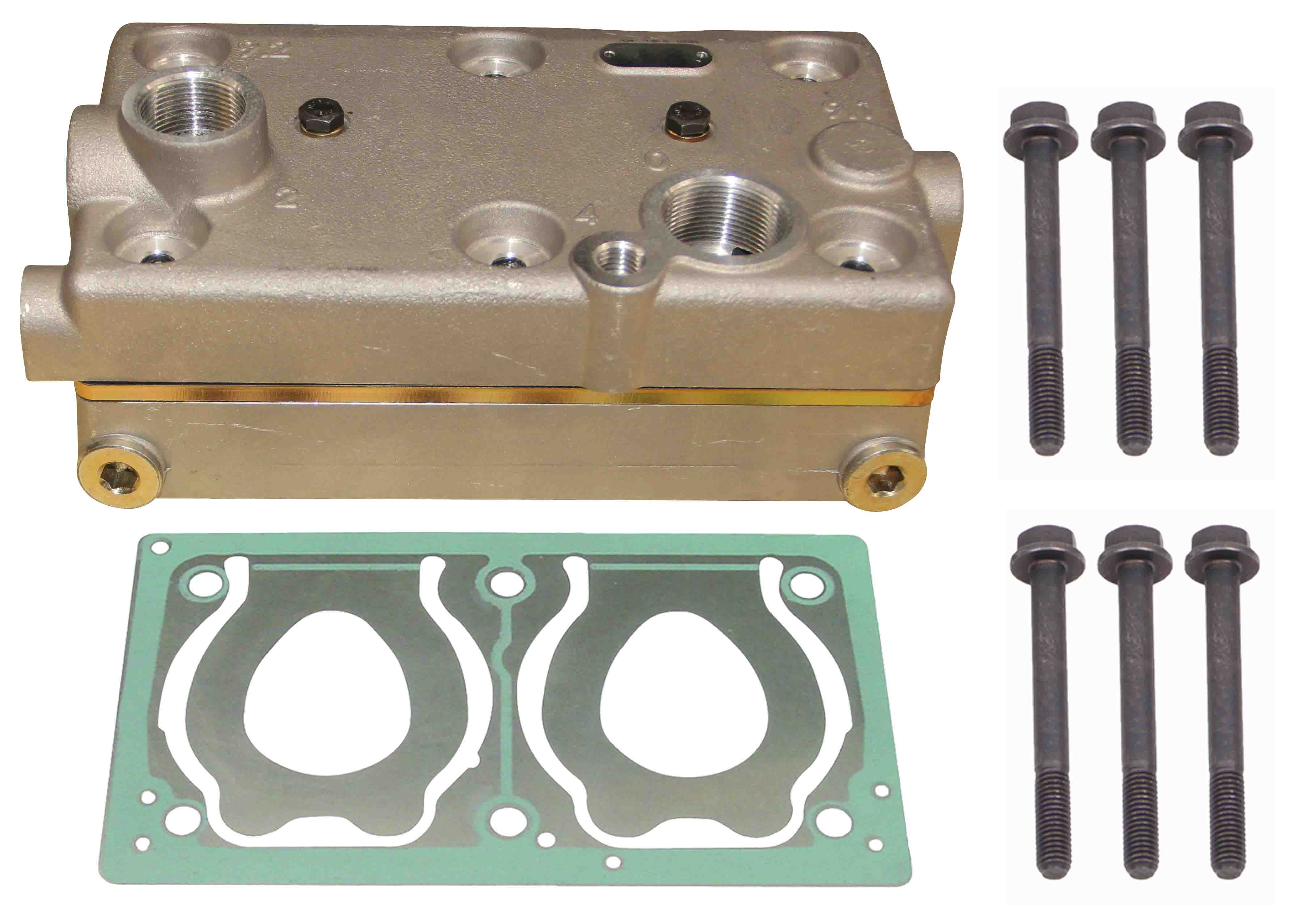 MERCEDES CYLINDER HEAD WIHT PLATE KIT ARC-EXP.304702 0011310815