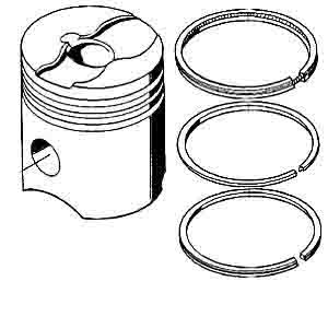 MAN PISTON &RING ARC-EXP.402794 51025017345