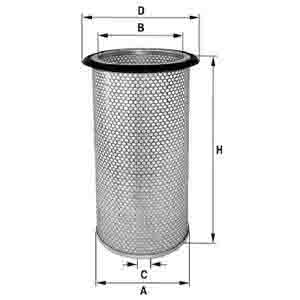 SCANIA AIR FILTER ARC-EXP.500505 310814