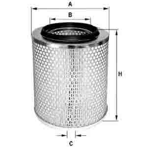 SCANIA AIR FILTER ARC-EXP.500508 235586