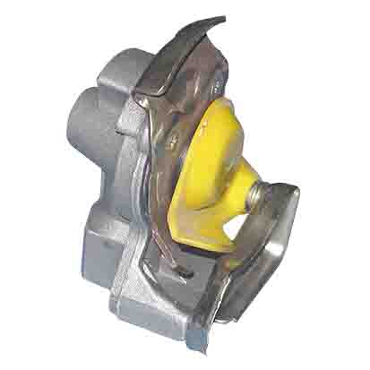 SCANIA AUTOMATIC PALM COUPLING-YELLOW ARC-EXP.501303
