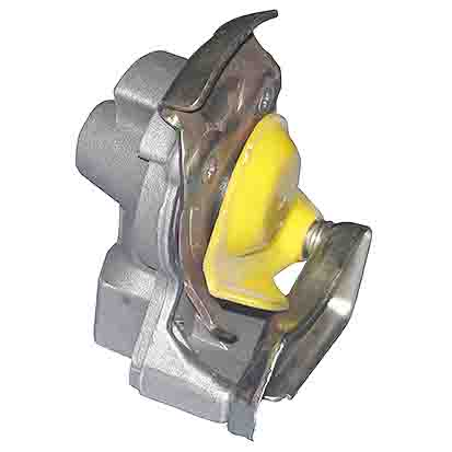 SCANIA AUTOMATIC PALM COUPLING-YELLOW ARC-EXP.501305 318159