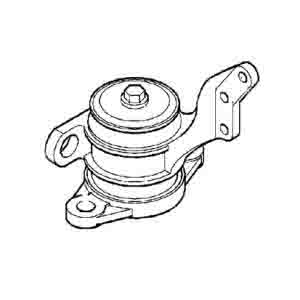 RENAULT ENGINE MOUNTING, FRONT ,L ARC-EXP.600047 5010460294