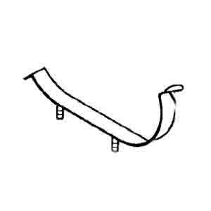 RENAULT EXHAUST CLAMP ARC-EXP.600291 5010314114